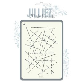 Jilliez Jilliez Mask Stencil variatie stiksteek