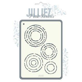 Jilliez Jilliez Mask Stencil cirkels