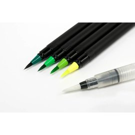 Jilliez Aqua Brushmarkers Set Green
