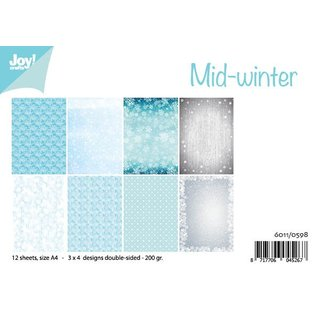 Joy!Crafts Papierset - Design Mid-winter