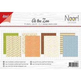 Joy!Crafts Papierset - At the zoo