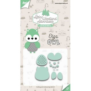 Joy!Crafts Snij-embosstencils - LWA - Olga Uil