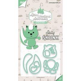 Joy!Crafts Snijstencils - LWA - Sally Skunk (Stinkdier)