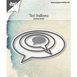 Joy!Crafts Snijstencils - Tekstballonnen