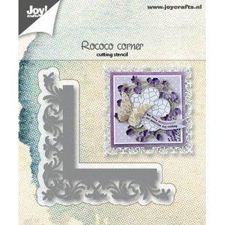 Joy!Crafts Snijstencil - Hoek Rococo