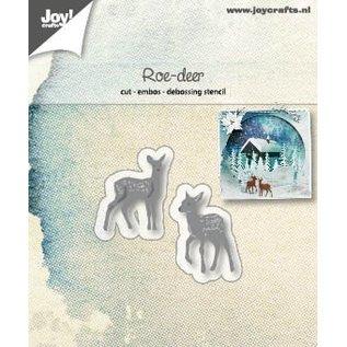 Joy!Crafts Snij-embos-debosstencil - Reeen