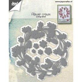Joy!Crafts Snijstencil - Bloemenkrans