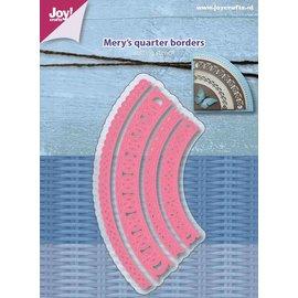 Joy!Crafts Snijstencil - Mery's Kwart cirkelranden