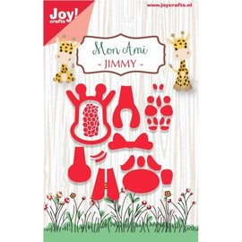 Joy!Crafts Snij-stencil - Mon Ami - Giraffe Jimmy