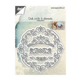 Joy!Crafts Snijstencil - Didi cirkel en elementen