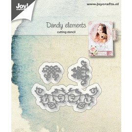 Joy!Crafts Snijstencil - Dandy elementen