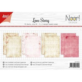 Joy!Crafts Papierset - Noor - Design Love Story