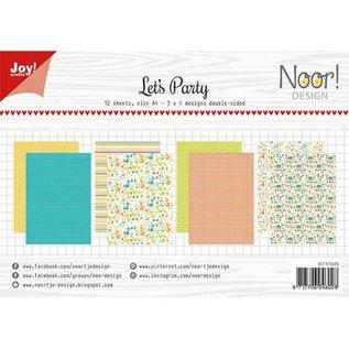 Joy!Crafts Papierset - Noor - Design Let's Party