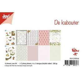 Joy!Crafts Knipvellen/Papierset - Rien Poortvliet - De kabouter