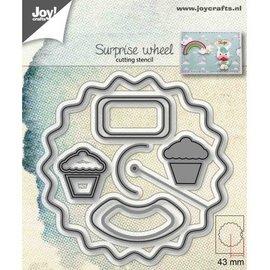 Joy!Crafts Snijstencil - Verrassingswiel/Aankondigingswiel
