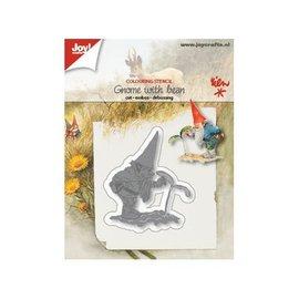 Joy!Crafts Snij-kleurstencil - Kabouter met jonge boon