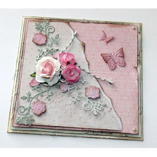 Joy!Crafts Snij-embosstencil - Lovely Rose