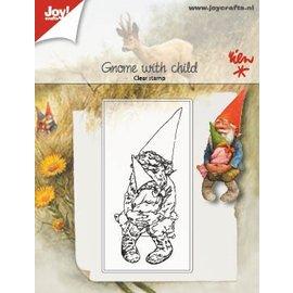 Joy!Crafts Clearstempel - Kabouter met kind