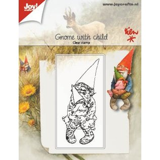 Joy!Crafts Clearstempel - Kabouter met kind