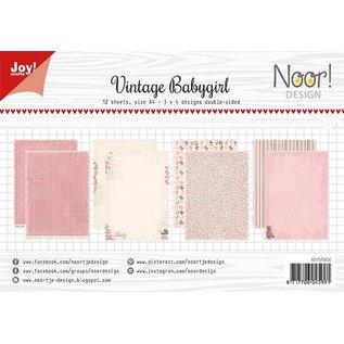 Joy!Crafts Papierset - Design Vintage Babygirl