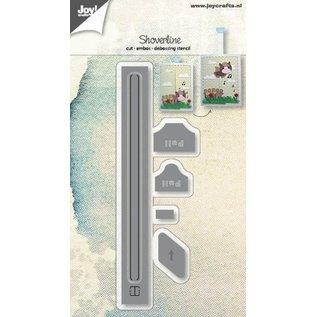 Joy!Crafts Snijstencils - Shoverline