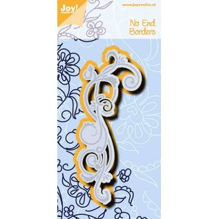 Joy!Crafts Snij-embosstencil - Noor - No-end border Swirl