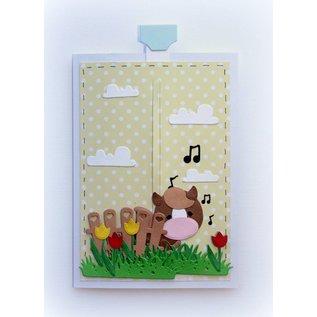 Joy!Crafts Snij-stencils - Tumble Friends - Jocelijne -Farm