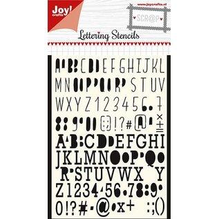 Joy!Crafts Polybesa Maskstencil - Noor - Lettering