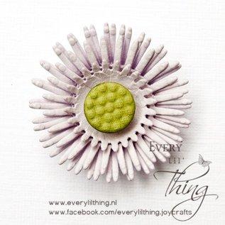 Joy!Crafts Snij-embosstencil - Floral Florishes - Chrysant