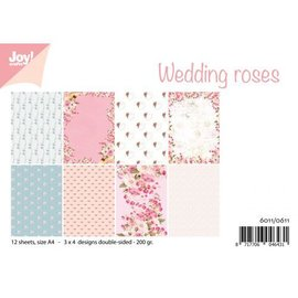 Joy!Crafts Papierset - Design Wedding roses