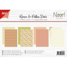 Joy!Crafts Papierset - Design Roses & Polkadots