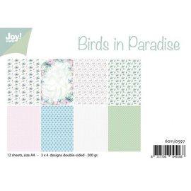 Joy!Crafts Papierset - Birds in Paradise