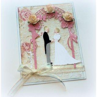 Joy!Crafts Snij-embosstencil - Bruidspaar