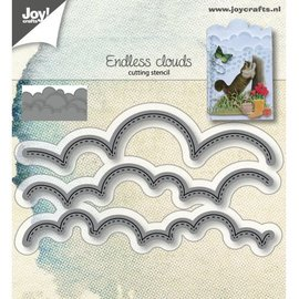 Joy!Crafts Snijstencils - Wolken-randen