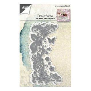 Joy!Crafts Snij-embos-debosstencils - Bloemenrand