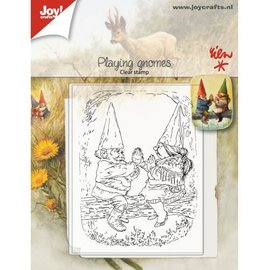 Joy!Crafts Clearstamp - Rien - Spelende kabouters