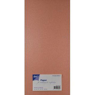 Joy!Crafts Metallic cardstock papier Rose 15x30cm - 8013/0128