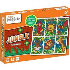 Ludo Imaginem Imaginem Startset JUNGLE