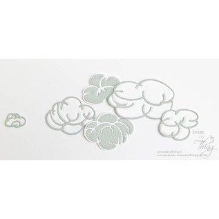 Joy!Crafts Snijstencils - Sketch Art - Wolken