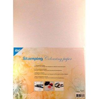 Joy!Crafts Stempelinkleurpapier wit A3