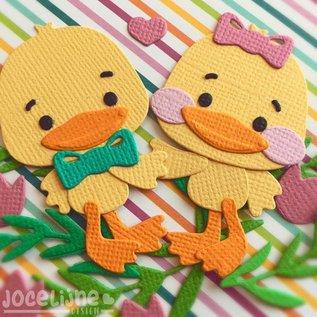 Joy!Crafts Snij-embosstencils - Jocelijne - Ruby