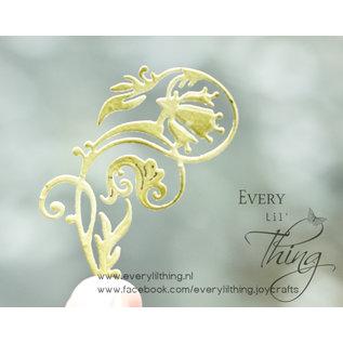 Joy!Crafts Snij-embos-debosstencil - Flowerswirl