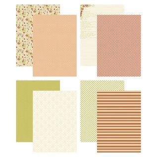 Joy!Crafts Papierset - Design Roses & Polkadots