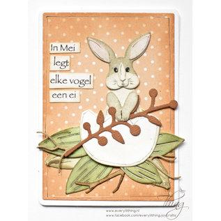 Joy!Crafts Snijstencil - Mon Ami - Roger konijn