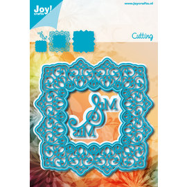 Joy!Crafts Cuttingstencil - Noor - Square blue