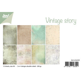 Joy!Crafts Design Paperset - Vintage story