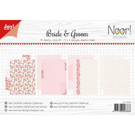 Joy!Crafts Design Paperset - Noor - Bride and Groom