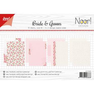 Joy!Crafts Design Paperset - Noor - Bride and Groom