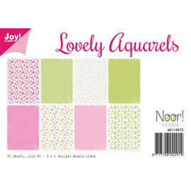 Joy!Crafts Design Paperset - Noor - Lovely Aquarels