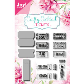 Joy!Crafts Die & stamps - Noor - CC - Tickets
